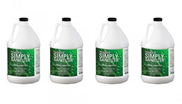 Simply Sanitizer 1-3 CASE