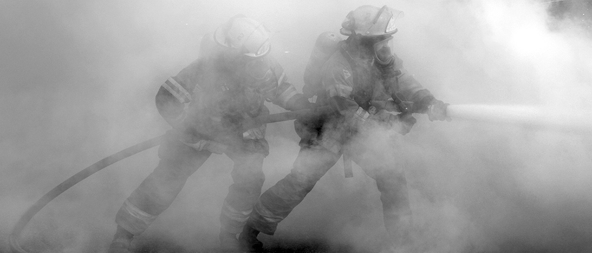 Fireman Smoke Training
