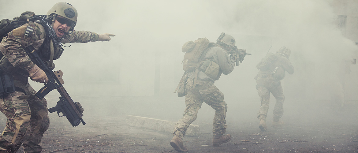US Military Smoke Training